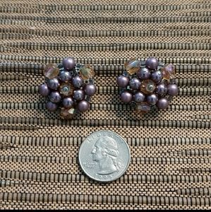 Jewelry - Vintage Beaded Necklace and Earrings